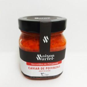 Caviar de poivrons - Maison WURFEL